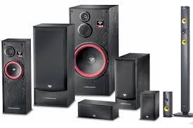 used home theater systems floor standing vs bookshelf loudspeakers which is best