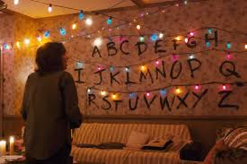 lights on wall with pictures stranger things arduino powered light wall kylie stradley
