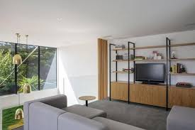 Home Addition Design Help Bright Home Interiors Of Contemporary Box Shaped Extention To