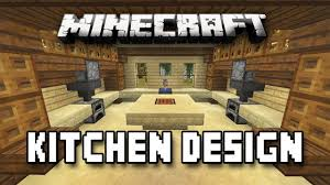 Kitchen Ideas Minecraft Minecraft Pe Interior Design