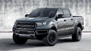 Ford Raptor Truck Black - 2019 ford ranger raptor review top speed