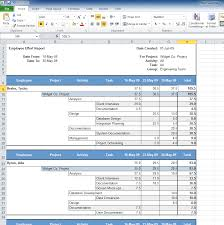 Project Time Tracking Template by Senomix Timesheets Time And Expense Tracking Software