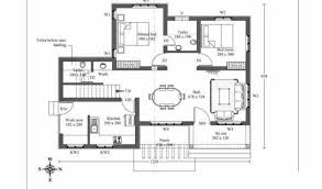 Ground Floor 3 Bedroom Plans Modern House Plan Economic With 3 Bedrooms And 70 Square Meters