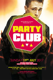 party club free poster template best of flyers