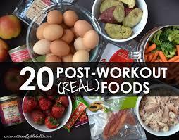20 best foods to eat post workout coconuts u0026 kettlebells