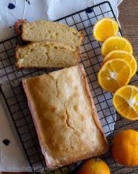 orange vanilla pound cake