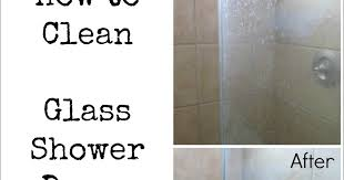 how to clean shower glass door how to clean glass shower doors the easy way