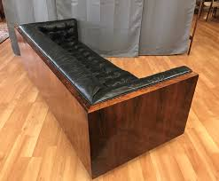 Rosewood Laminate Flooring Milo Baughman Style Rosewood And Leather Case Sofa Sold