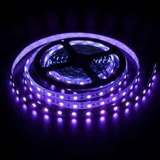 5m non waterproof smd 5050 uv purple black light led rope lights
