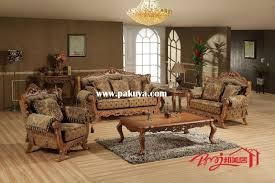 Luxury Upholstered Formal Living Room Furniture Traditional Sofa - Living room furniture set names