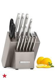 kitchen aid knives kitchenaid kkfss16cs architect series 16 pc stainless steel