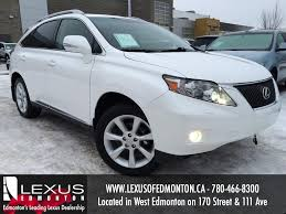 car lexus 2010 used white 2010 lexus rx 350 awd review stettler alberta youtube