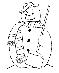 free coloring pages winter snowman winter coloring pages of