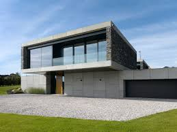 great architecture modern houses with green view landscape general