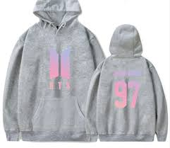 bts love yourself gradient hoodie u2013 very kpop