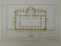 new american floor plans main floor hispanic society of america museum new york ny 1906