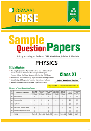 oswaal cbse sample question papers for class 11 physics 1st