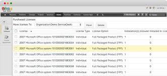 Microsoft Service Desk Software Asset Management Software License Management Software