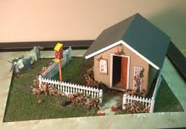 small scale dollhouse miniatures home