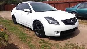 nissan altima black 2007 white plasti dipped altima 3 5 youtube