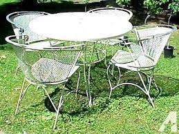 fabulous vintage wrought iron patio furniture sets niture sets