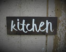 signs and decor rustic kitchen sign etsy
