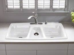 Sinks Glamorous Kohler Farm Sink Stainless Steel Farmhouse Sink - Triple sink kitchen