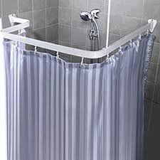 Round Shower Curtain Rod For Corner Shower Amazing Bendable Shower Curtain Rod Flexible Custom Form Arch