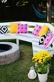 Menards Firepit by Curved Fire Pit Bench Plans Fire Pit Design Ideas