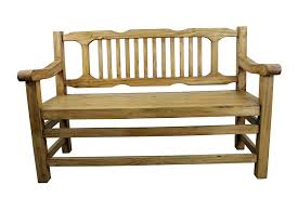wooden bench with back and arms of 19 extraordinary designs ideas
