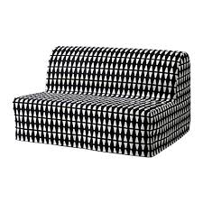 Sleeper Sofa Cover Lycksele Lövås Sleeper Sofa Ebbarp Black White Ikea