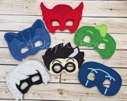 pj masks costume etsy