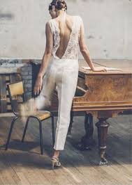 white wedding jumpsuit gorgeous bridal jumpsuits that ll convince you to skip the dress