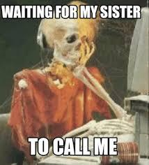 Meme Waiting - meme creator waiting skeleton meme generator at memecreator org