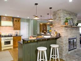 rustic kitchen island lighting ideas