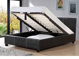 leather ottoman storage bed interior design