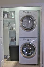 Laundry Room Storage Between Washer And Dryer by Stackable Washer And Dryer Laundry Room Ideas 11 Best Laundry
