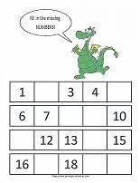 preschool numbers matching worksheet smarty pants pinterest