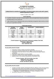 chartered accountant resume resume sample word doc 2 a37c4445b39676bbc2308c2bc69d510f