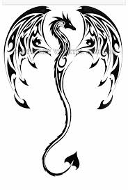 tribal stag tattoo 28 best fire dragon tribal tattoo designs images on pinterest