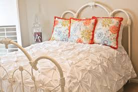 Anthropologie Duvet Covers Anthropologie Inspired Knotted Bedding Part 1 Making The Knotted