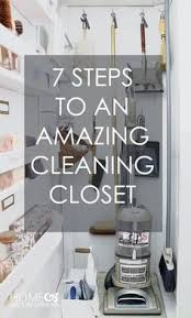 cleaning closet ideas i like the pull out shelves and the wall stripes i could use the