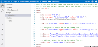javascript tutorial head first learn how to write apps for office code interactively with the api