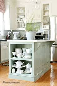 paint kitchen island remodelando la casa kitchen island painted ascp duck egg blue