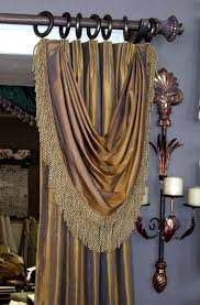Window Curtains And Drapes Decorating Curtain Exclusive Window Treatments Pinterest Bustle Euro