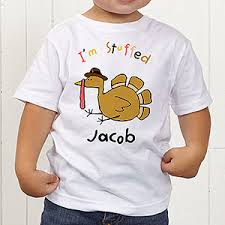 personalized toddler thanksgiving t shirt i m stuffed