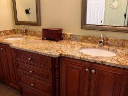 dramatic change with bathroom granite countertops home