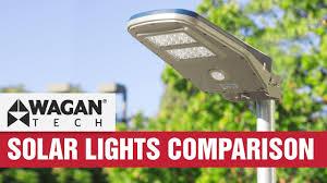 self contained motion detector light solar led area floodlight comparison review motion sensor