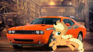 Dodge Challenger 4 Door - image fanmade applejack u0027s dodge challenger jpg my little pony