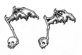 skull music note tattoo design by raenyras on deviantart